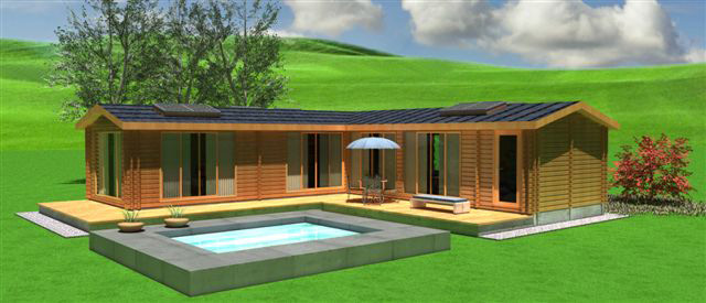 Eco house maggie special offer log home scotland for L shaped log cabin floor plans